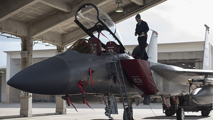 67th Fighter Squadron conducts maintenance
