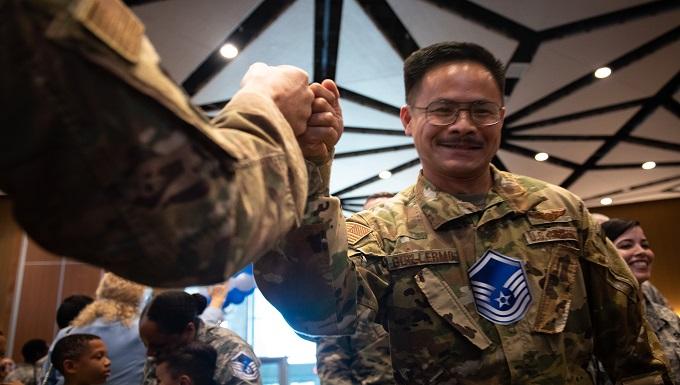 Kadena celebrates newest master sergeants